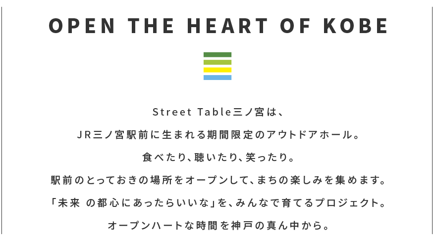 OPEN THE HEART OF KOBE