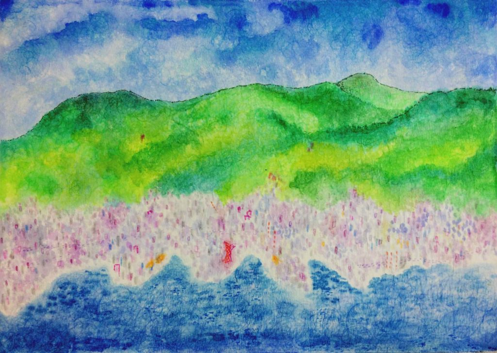 六甲山の紙芝居